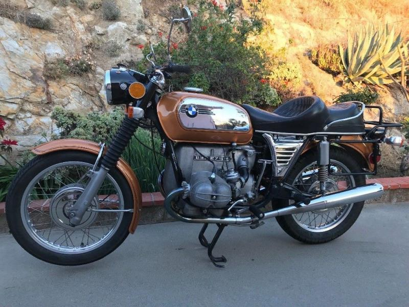 motorcycles 1973 bmw r series r75 5 toaster long wheelbase. Black Bedroom Furniture Sets. Home Design Ideas