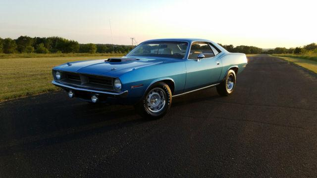Used Cars Montgomery Al >> Cars - 1970 Plymouth Barracuda Original B5 Blue