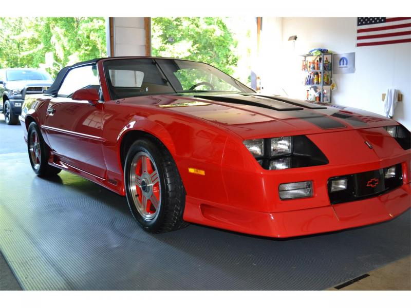Acura Of Chattanooga >> Cars - 1991 Camaro Z28 Convertible 5.0L Red